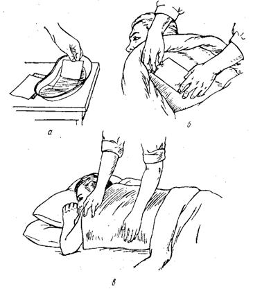 Техника постановки горчичников взрослому на спину