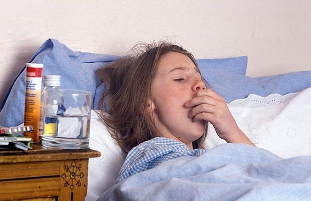 Больная с воспалением легких