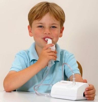 Ингаляция небулайзером поможет при сухом кашле