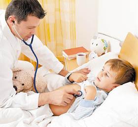 Лечение ребенка с пневмонией