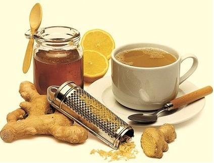 Рецепт имбирного напитка от простуды