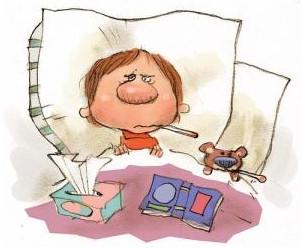 Признаки и симптомы ОРВИ у ребенка