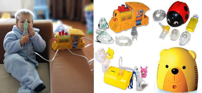 Как правильно выбрать ингалятор для ребенка?