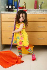 Влажная уборка дома и проветривание