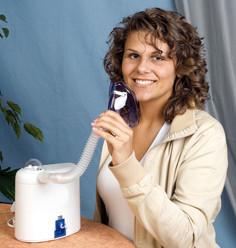 Использование небулайзера при насморке