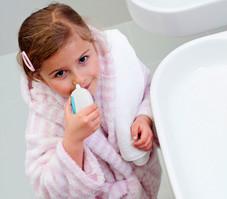 Промывание носа при фронтите у детей
