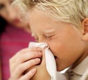 Фронтит (воспаление лобных пазух) у детей