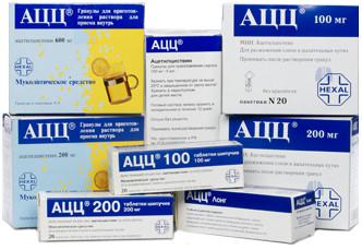 АЦЦ - инструкция и описание препарата