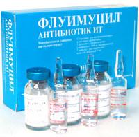 Флуимуцил антибиотик для ингаляций