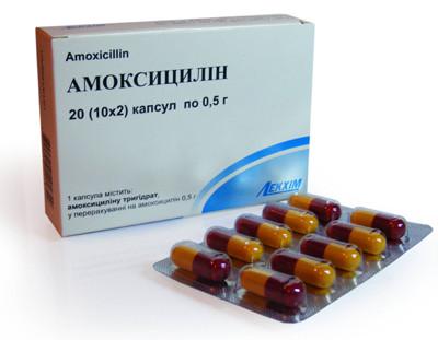 Применение Амоксициллина при лечении ангины